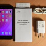 Отзыв на смартфон ZTE Blade A520