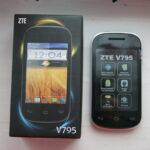 2-х ядерный смартфон ZTE V795